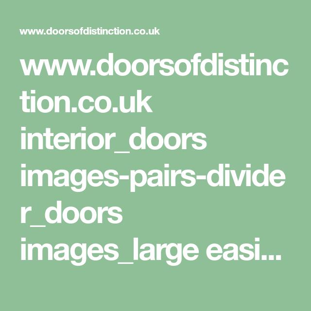 Www.doorsofdistinction.co.uk Interior_doors Images-pairs