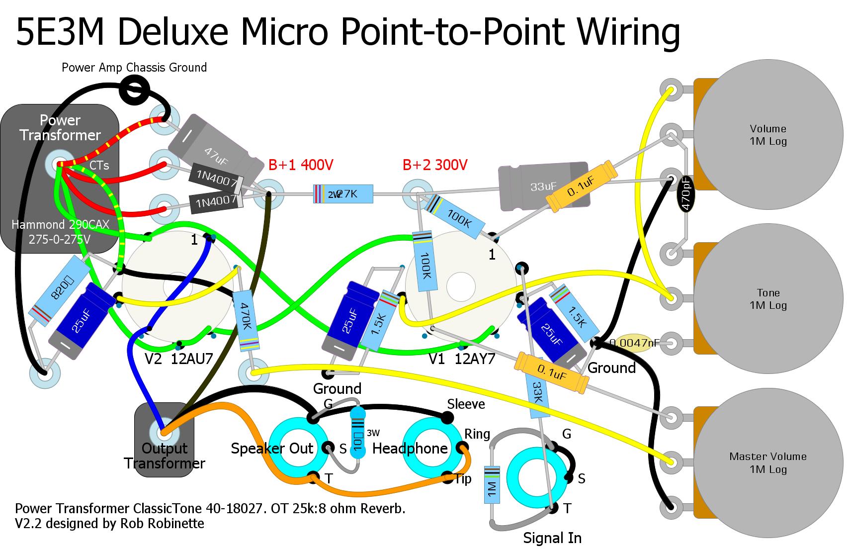 Deluxe Micro Diy Guitar Amp Diy Electrical Micro