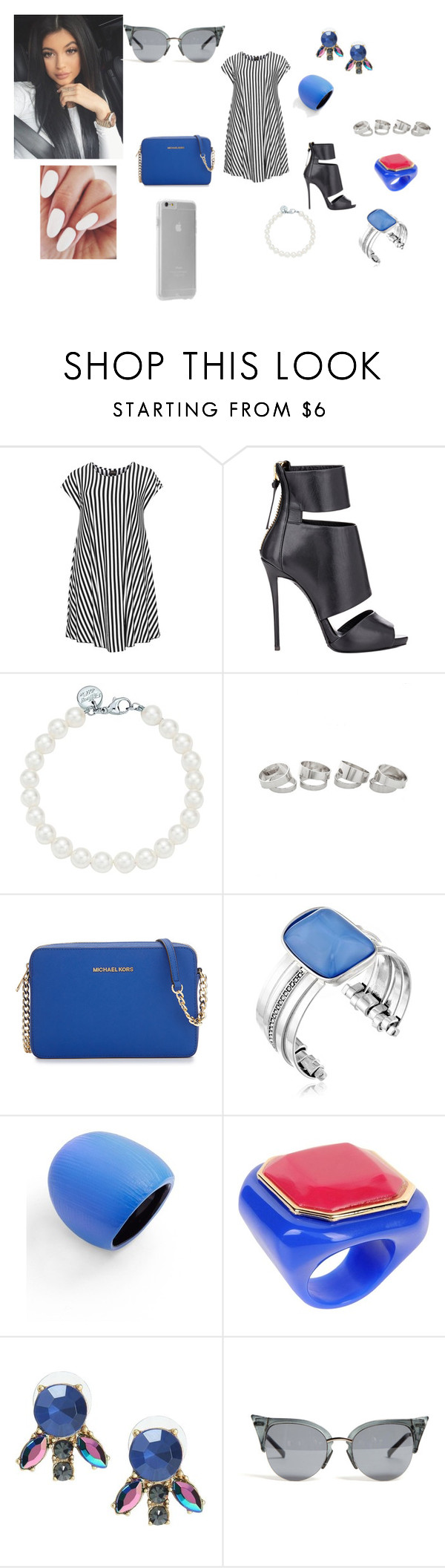 """Sem título #711"" by ritaboo98 ❤ liked on Polyvore featuring Choise, Giuseppe Zanotti, Tiffany & Co., MICHAEL Michael Kors, Kenneth Cole, Alexis Bittar, Giorgio Armani and Case-Mate"