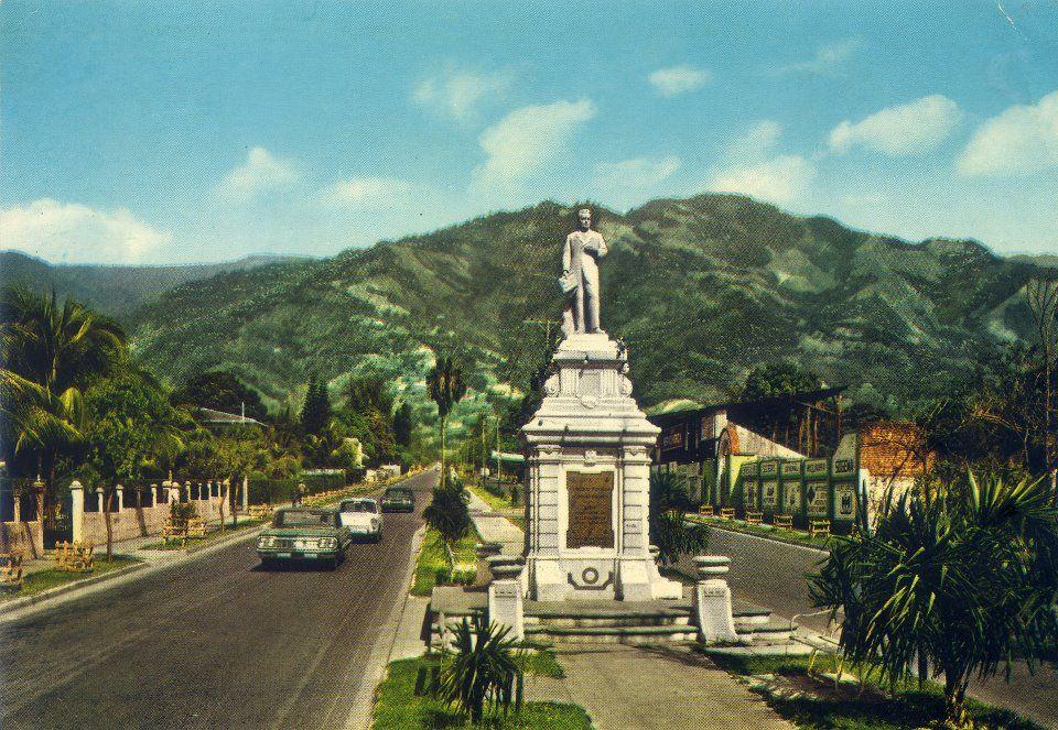 San Pedro Sula Honduras In The 60s Morazán Boulevard San Pedro Sula San Pedro Honduras