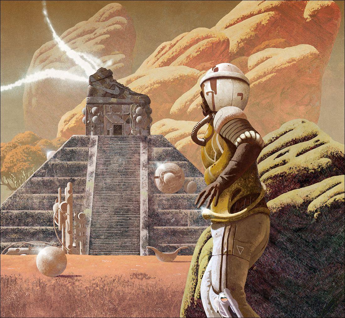 Interview With Artist Dan Mcpharlin: Sci-Fi Surreal Album Covers By Dan McPharlin