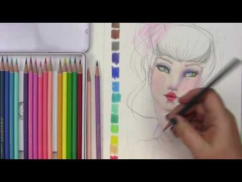 Jane Davenport Mixed Media - Magic Wand Colored Pencils - YouTube