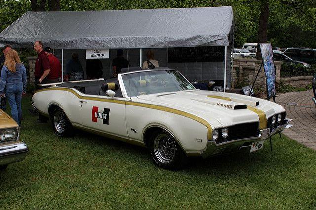 1969 Hurts-Olds Cutlass convertible | Richard Spiegelman | Flickr