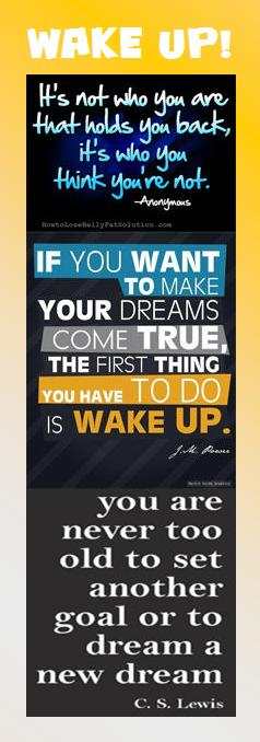 Motivational Bookmark Wake Up! (With images) Wonder