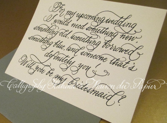 What A Cute Way To Ask Your Family Friends Be Bridesmaid