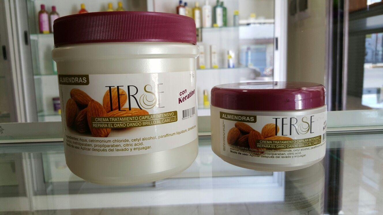 Crema Tratamiento Capilar Almendras Keratina Productos Para El
