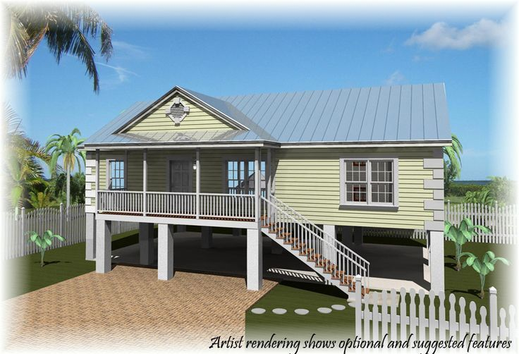 Beach House On Stilts Plans Stilt House Florida Home Pinterest Beach Houses House Plans And Stilt House Plans House On Stilts Beach House Plans