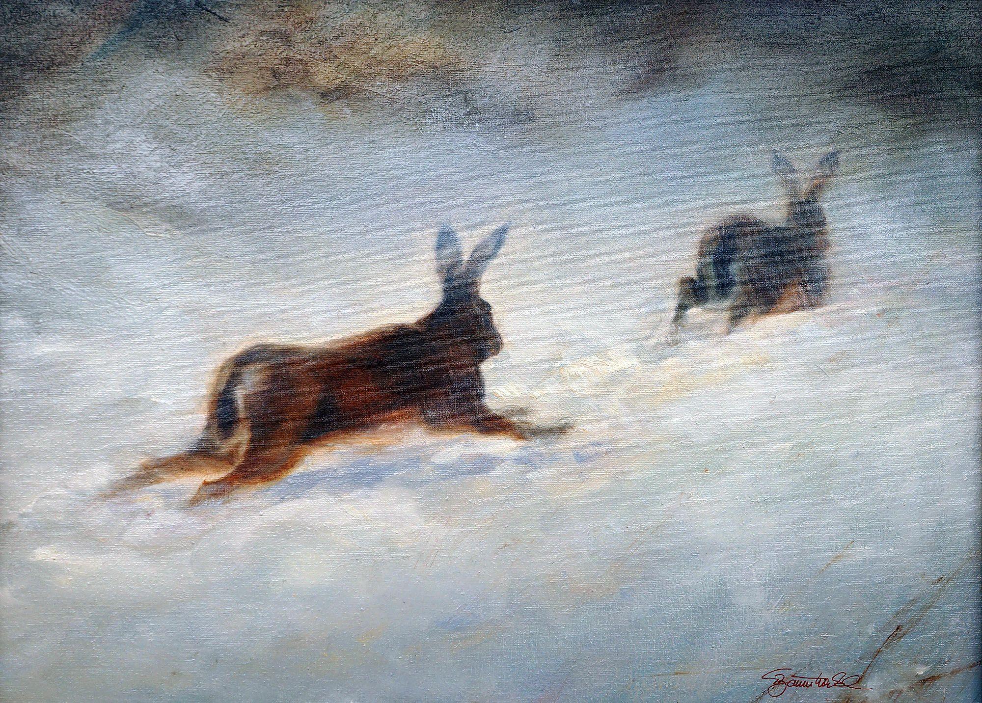 Nett Süße Malvorlagen Von Hasen Galerie - Malvorlagen Von Tieren ...
