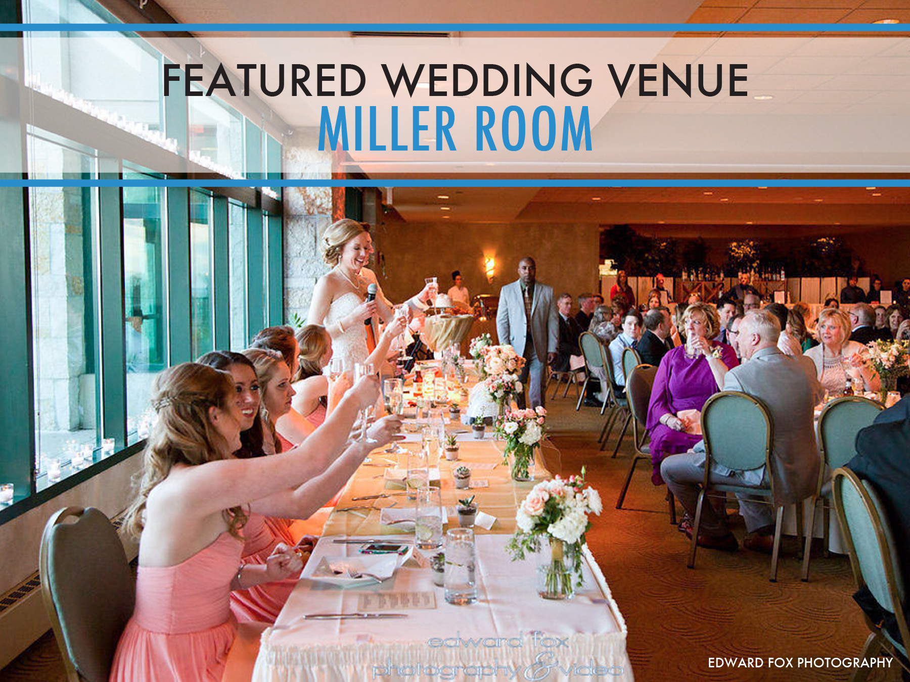 With Picturesque Views Of Lake Michigan And The Surrounding Gardens Miller Room Is An Excellent Milwaukee Venue For Large Weddings