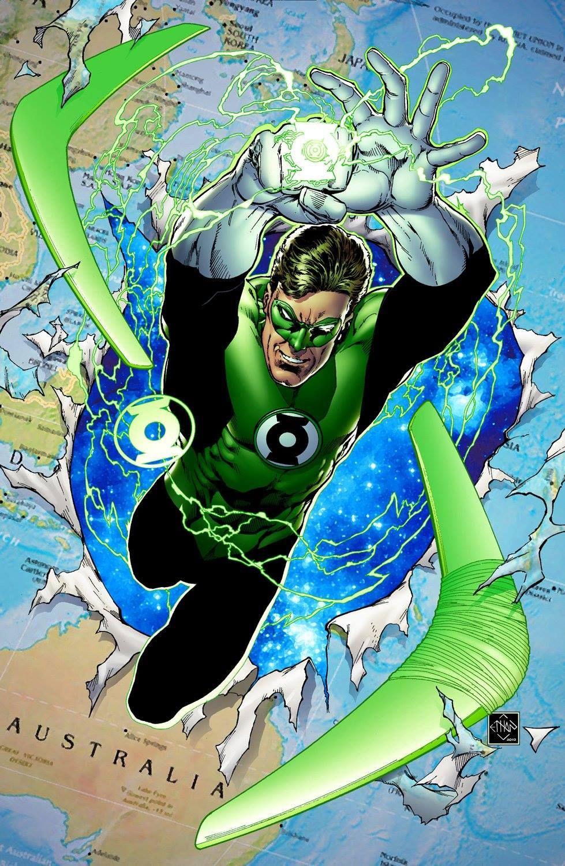 Green Lantern By Ethan Van Sciver Linterna Verde Dibujos Heroes De Dc Comics