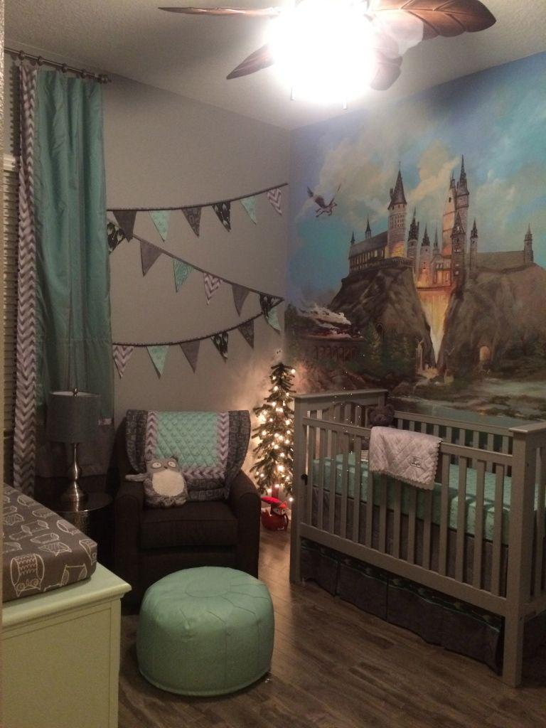 A Harry Potter Inspired Nursery | Kinder zimmer, Baby ...