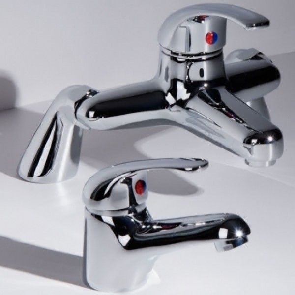 Murcia Basin Mono Mixer and Bath Filler Tap Pack £74.95 www.taps.co.uk