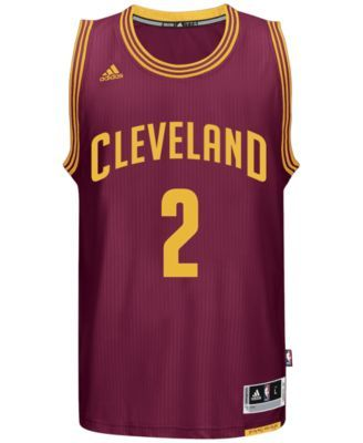 adidas Men s Kyrie Irving Cleveland Cavaliers Swingman Jersey - Red ... ce174b18b