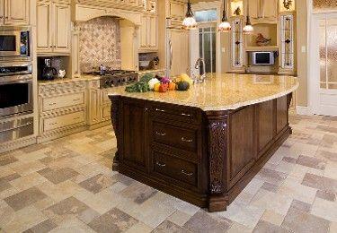 quartzite tile | Floor Tile Comparison: Marble, Granite, Ceramic, Porcelain, Slate tile