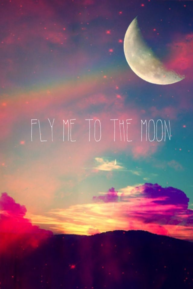 Fly me to the moon.   skies flowers land   Tumblr ...