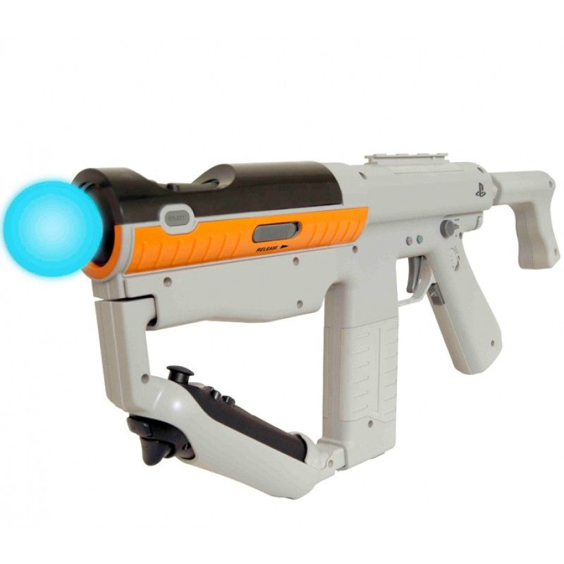 PS3 Move Sharp Shooter - SONY   Techno by SIMAN   Playstation move. Playstation. Game controller