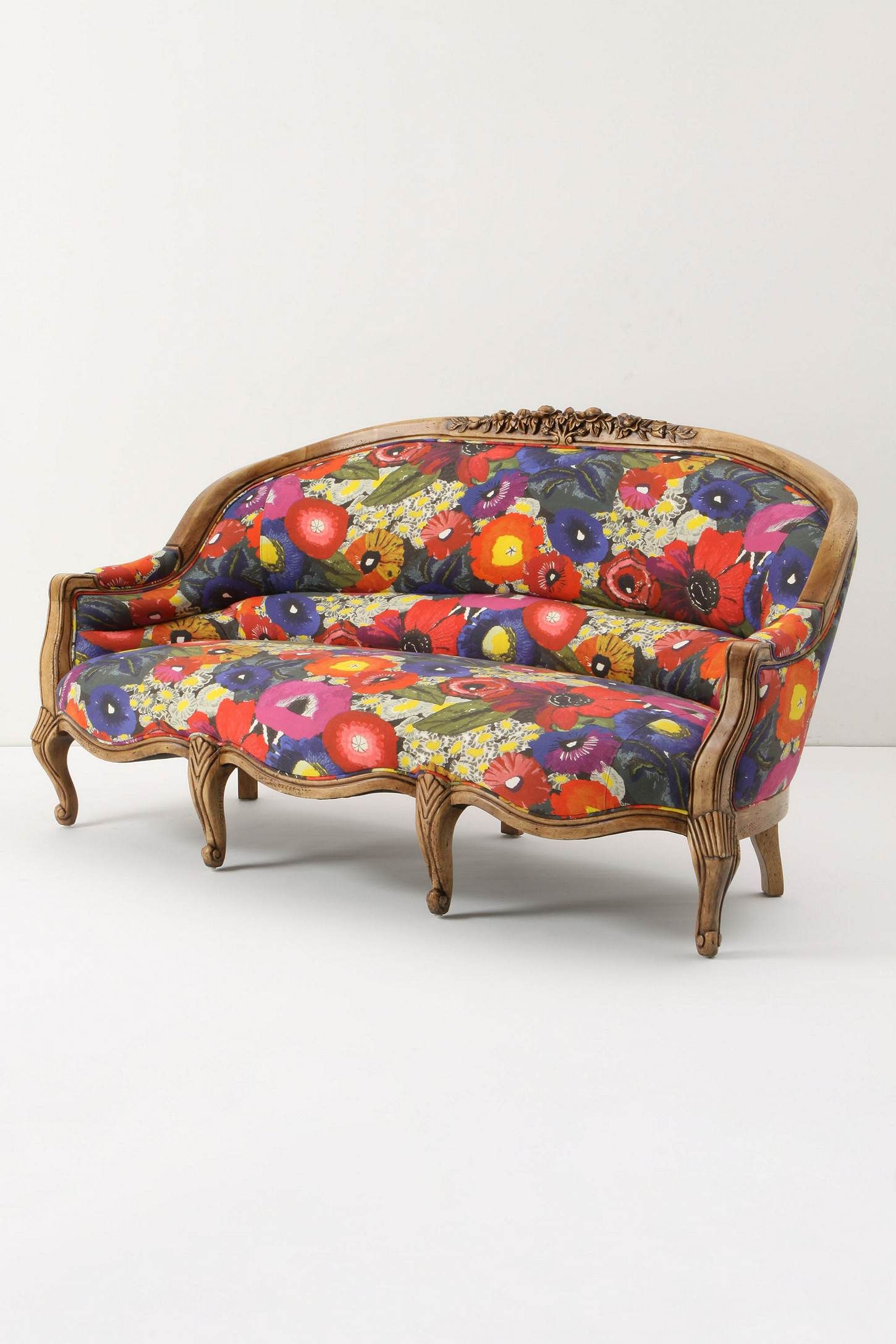 Amelie Sofa Blazing Poppies Anthropologie For The Home Pinterest Amelie Anthropologie