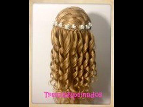 Peinados faciles para ninas de primera comunion