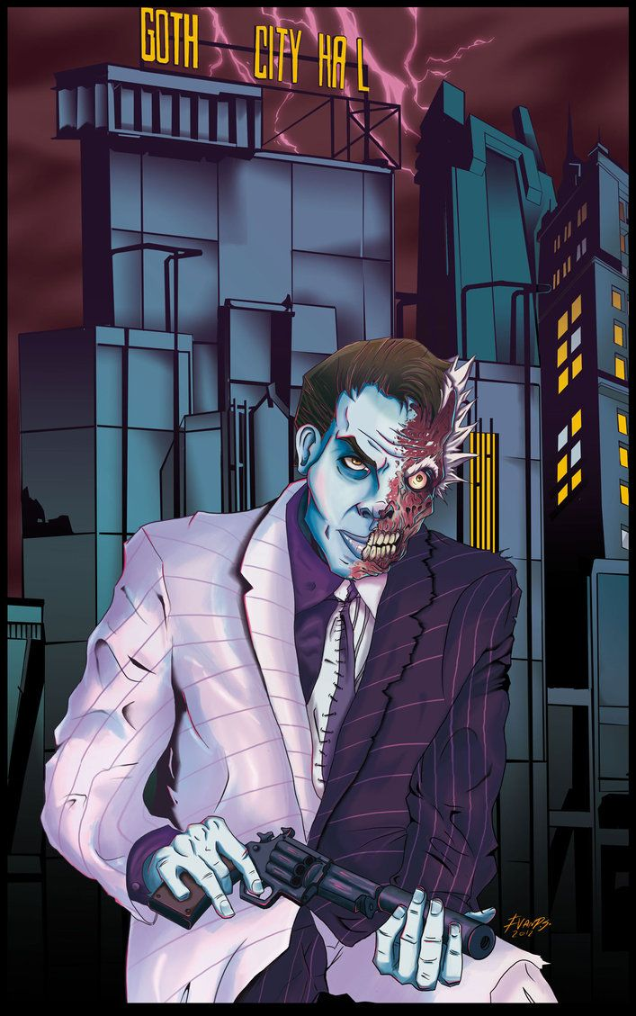 Two Face by IVANPS