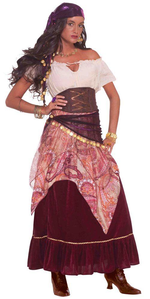 Gypsy Fortune Teller Plus Size Costume