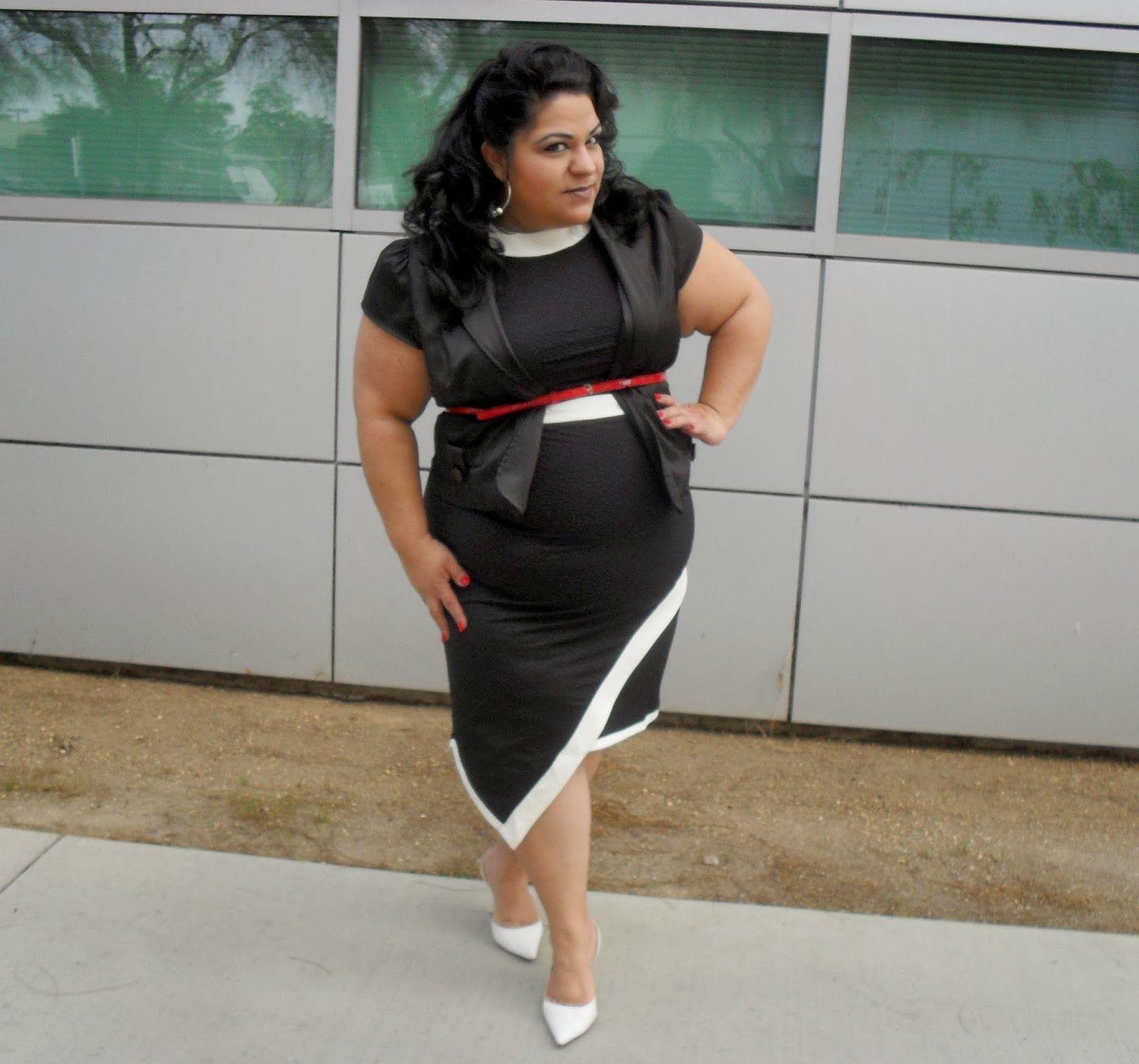 BBWGeneration: A-Symmetric Perfection - ASOS Curve Kleid (Outfit