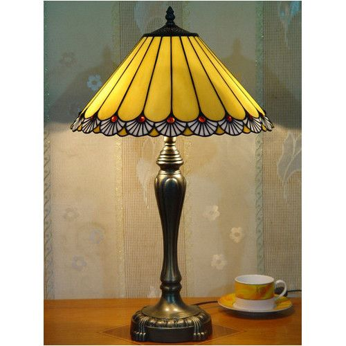 Tiffany Classic Bee Table Lamp Forest Tiffany Table Lamps