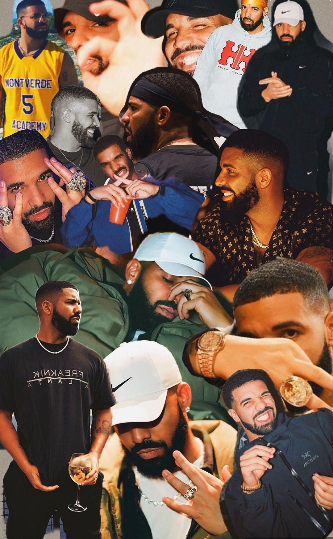 Collage Drake Drizzy In 2020 Drake Drizzy Aubrey Drake Drake