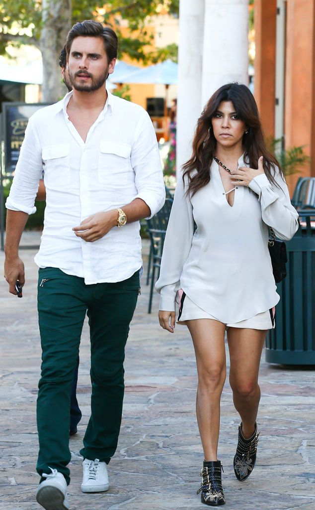 5b9db18e52f3 Kourtney Kardashian   Scott Disick from The Big Picture  Today s Hot ...