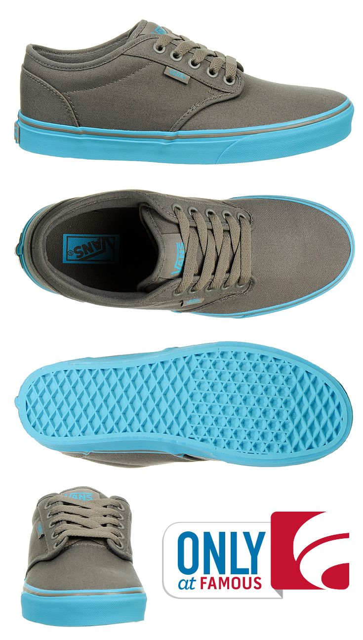 a193a1bc7d2  LocalsOnlyNYC  Longboard  Skateboards LocalsOnlyNYC.etsy.com Master your  favorite skate tricks in these cool blue and grey kicks from Vans.