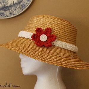 Pretty woman hat band pretty woman easy crochet flower and pretty woman hat band knitted headbandcrochet mightylinksfo Choice Image