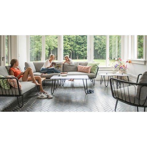 Kreta Aluminium Lounge Modular 2 Sitzer Sofa Exklusive Mobel Mobelideen