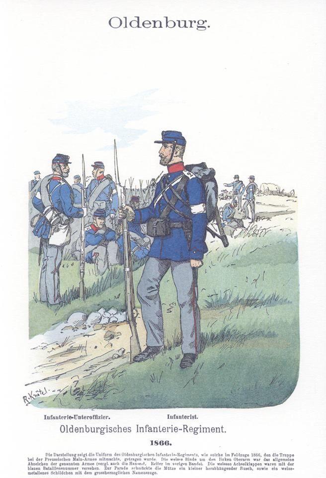 Band V 20 Oldenburg Infanterie Regiment 1866 Militar