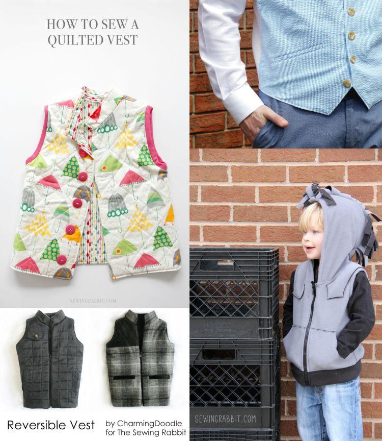 Free Vest Pattern | Vest pattern, Diys and Patterns