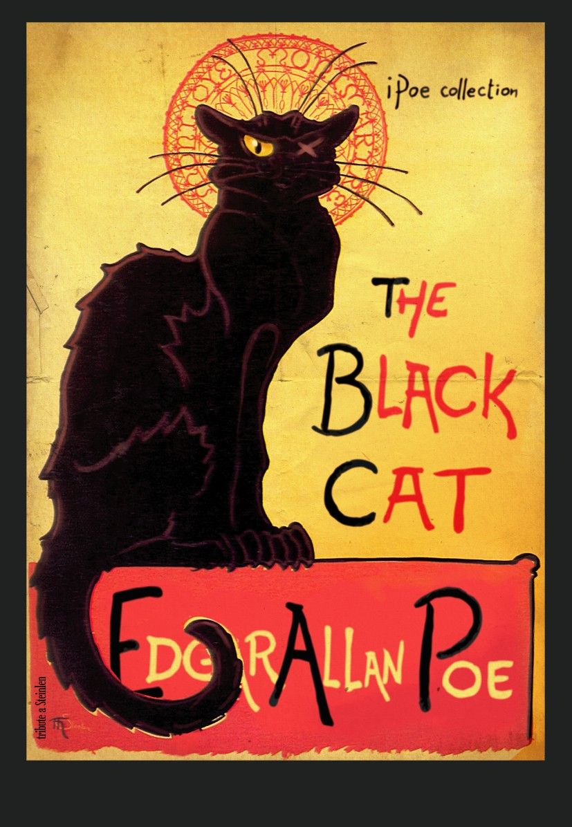 The Black Cat by Edgar Allan Poe first published in the August 19 ...