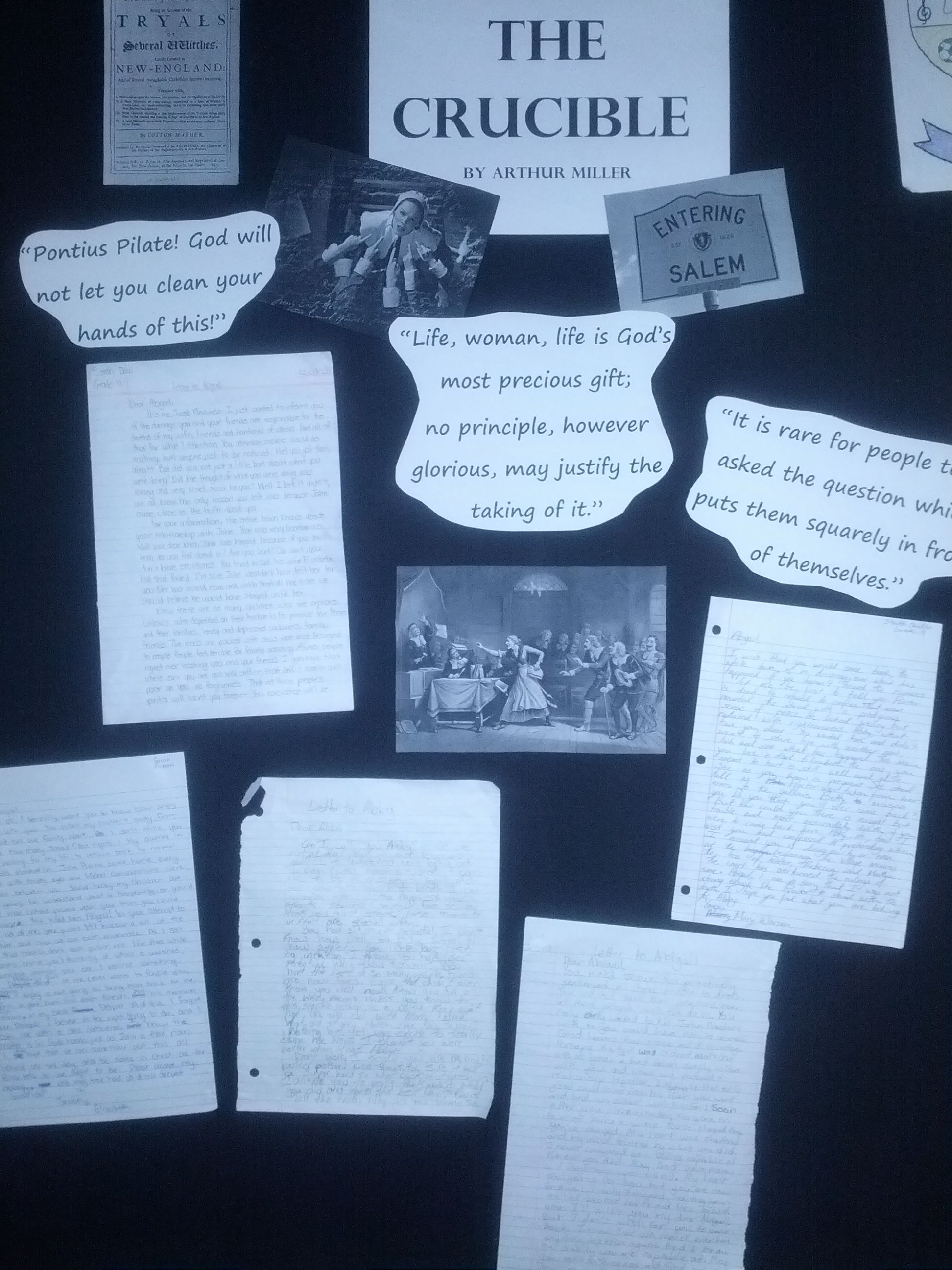 Activity for the crucible students write letters to abigail activity for the crucible students write letters to abigail williams letting her know what they fandeluxe Choice Image