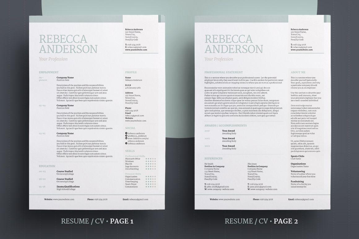 Elegant Resume/CV V2