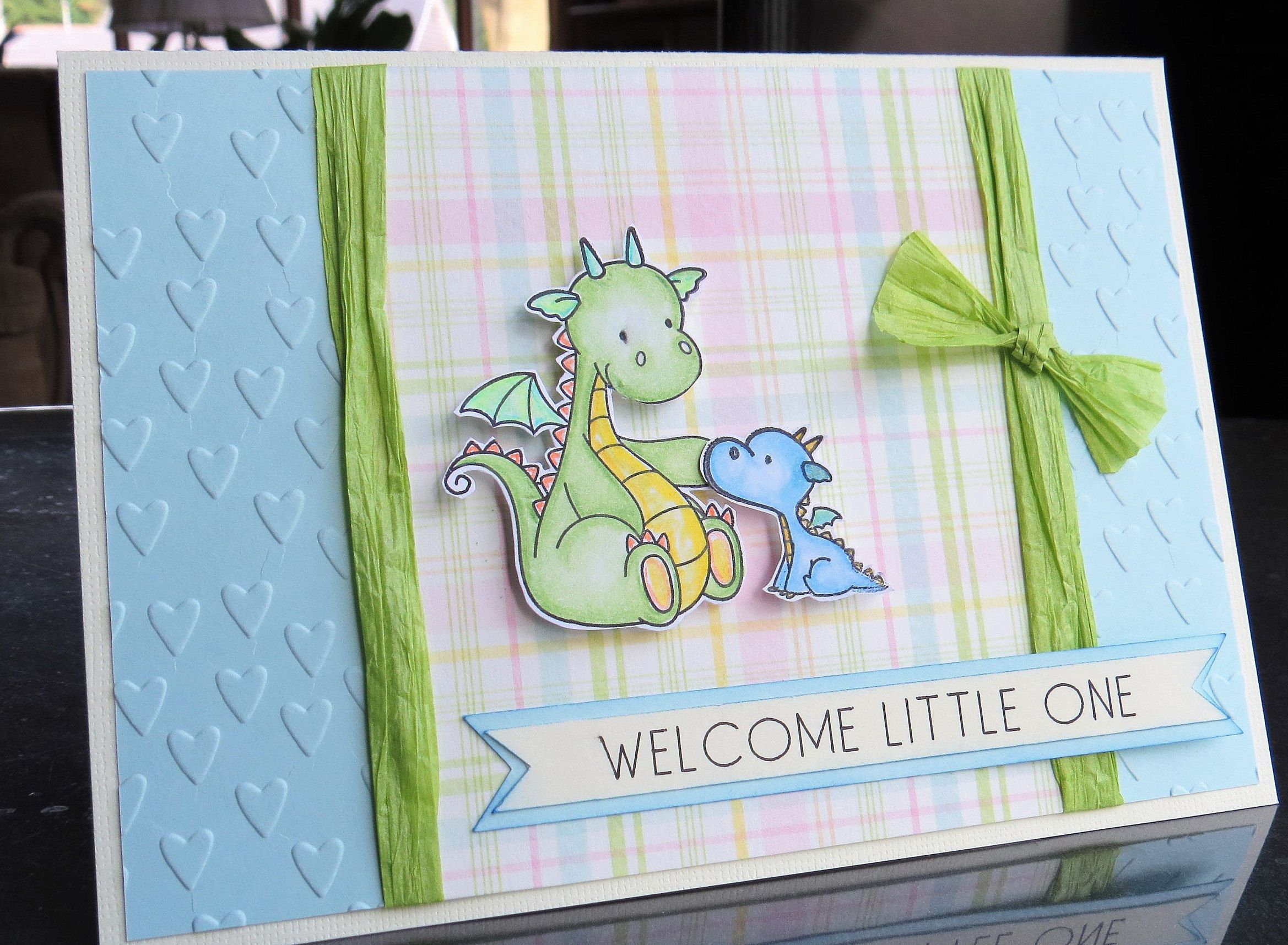 New Baby Card Welcome Little One Baby Shower Infant Boy Infant