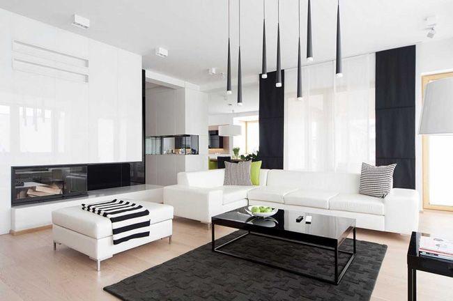 Quelle couleur ajouter à une décoration noir et blanc | Quelle ...