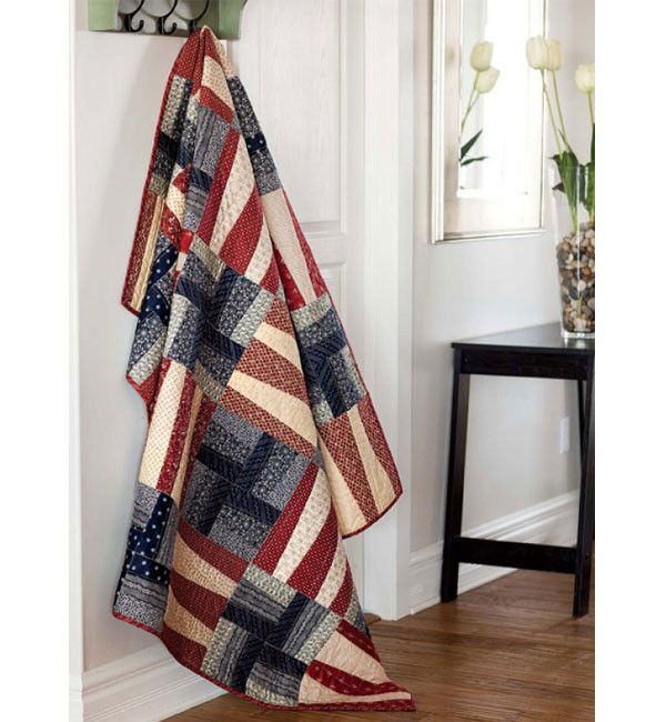 Best Selling Patriotic Quilts Pattern Collection is part of Patriotic quilts, Quilt of valor, Blue quilts, Quilt blocks, Quilt patterns, Flag quilt - Proudly display a new red, white and blue quilt in your home  We have selected 12 of our bestselling patriotic quilt patterns and bundled them into one convenient collection download  Show your pride and get started on your next patriotic quilt instantly!