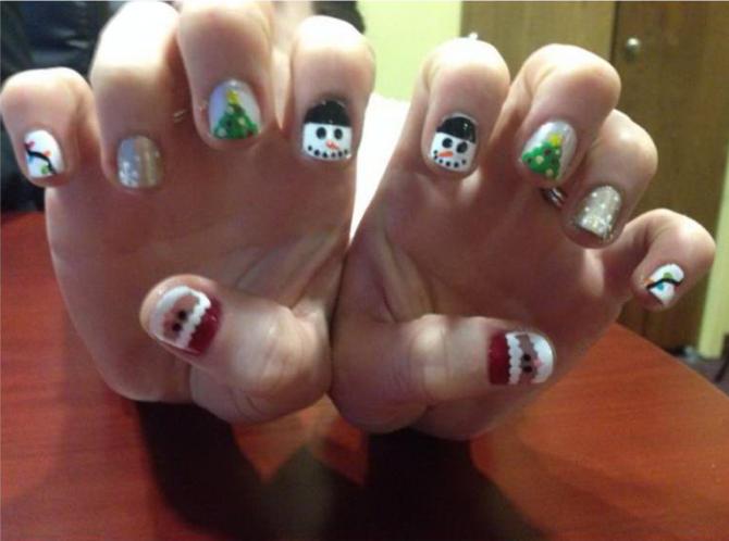 Holiday Nails - | Pinterest | Empire beauty and Nail nail