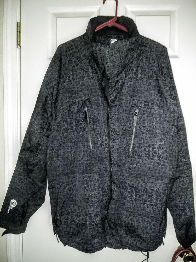 Billabong Explorer Jacket Black/Gray Snowboarding Ski Coat