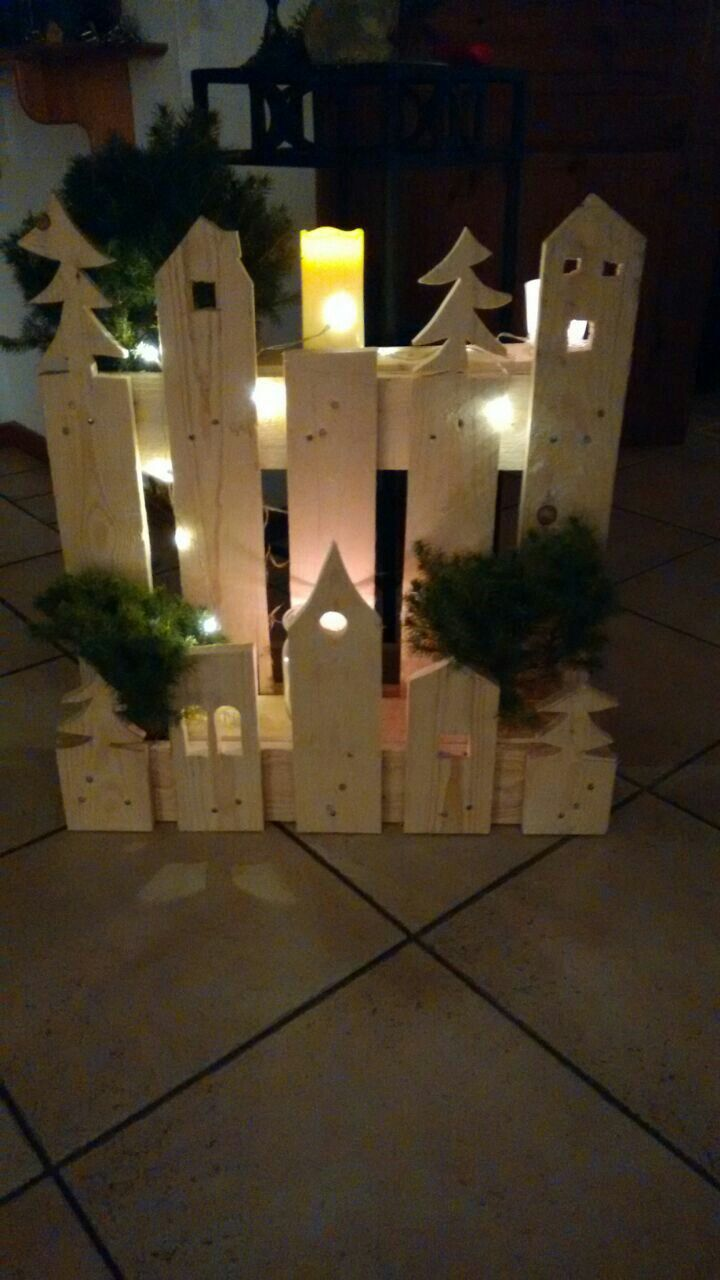 Pin von moni m auf m bel pinterest weihnachten deko - Winterlandschaft deko ...