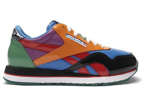 sale retailer 0c7c1 119fe Reebok Classics by artist Rolland Berry