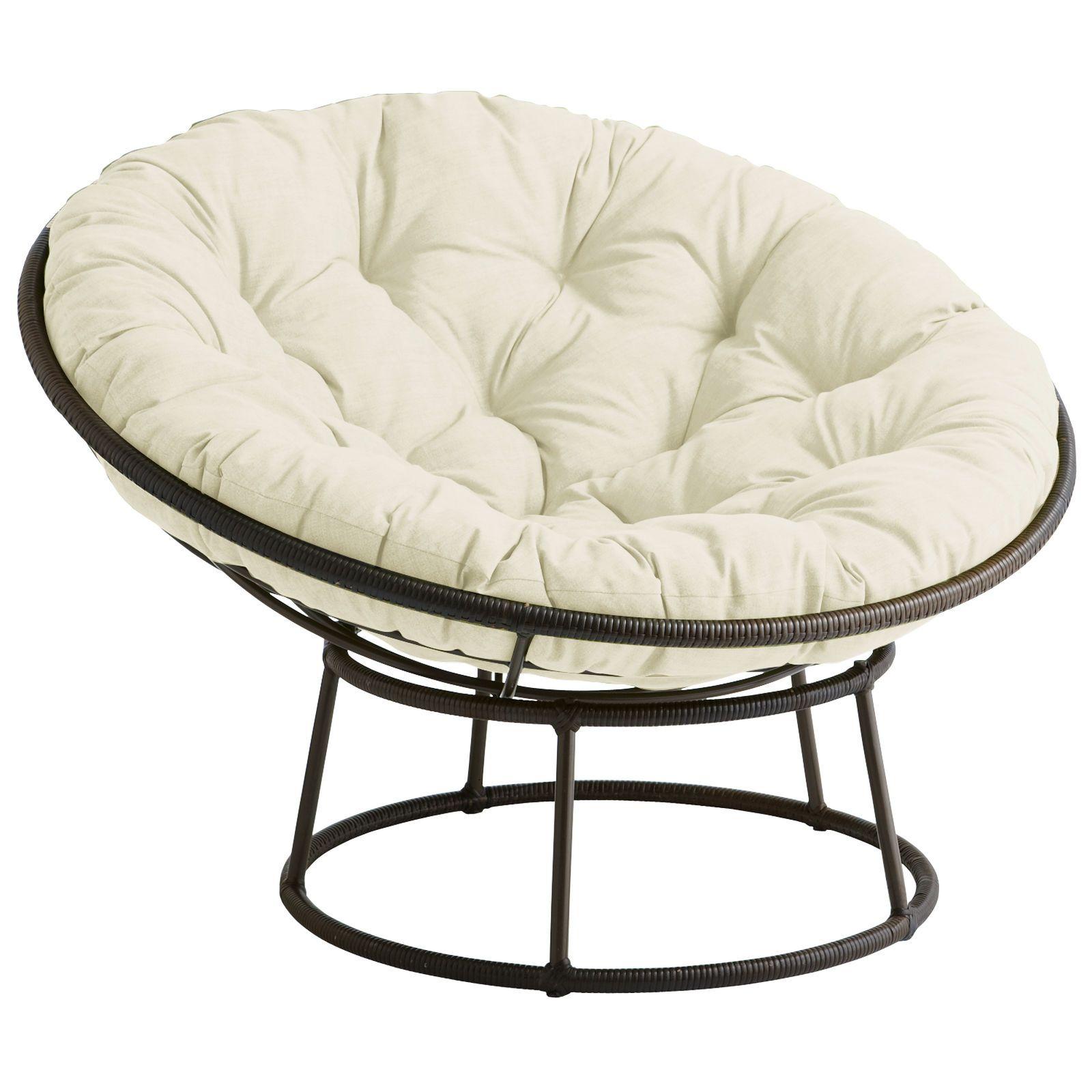 Outdoor Mocha Papasan Chair Frame Nabytok Byvanie