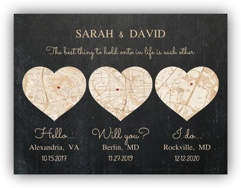 Virginia Map Print Custom City Print Alexandria Virginia Heart Map Print Alexandria Art