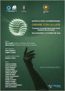 EVENTI A BARI: A Cassano delle Murge creano con la luce.