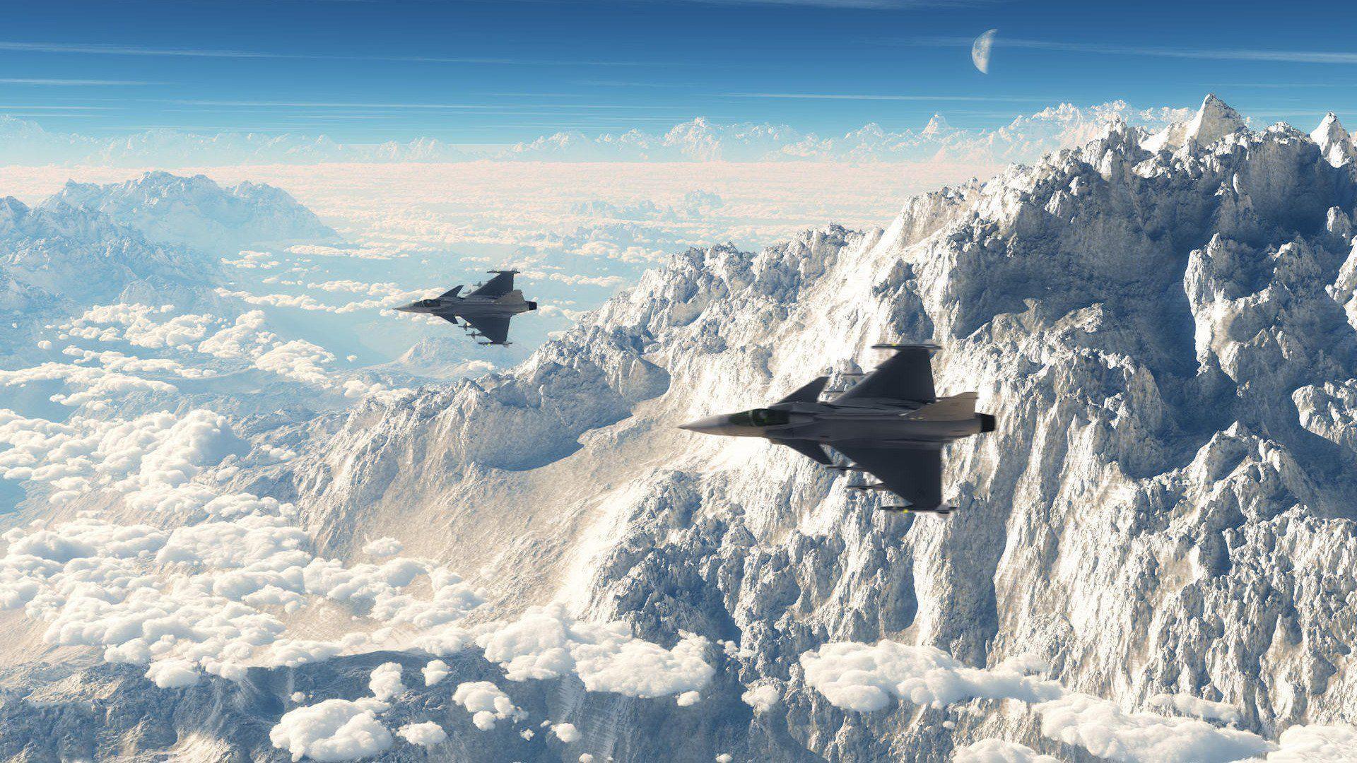 eurofighter typhoon jet fighter wallpaper | high definition