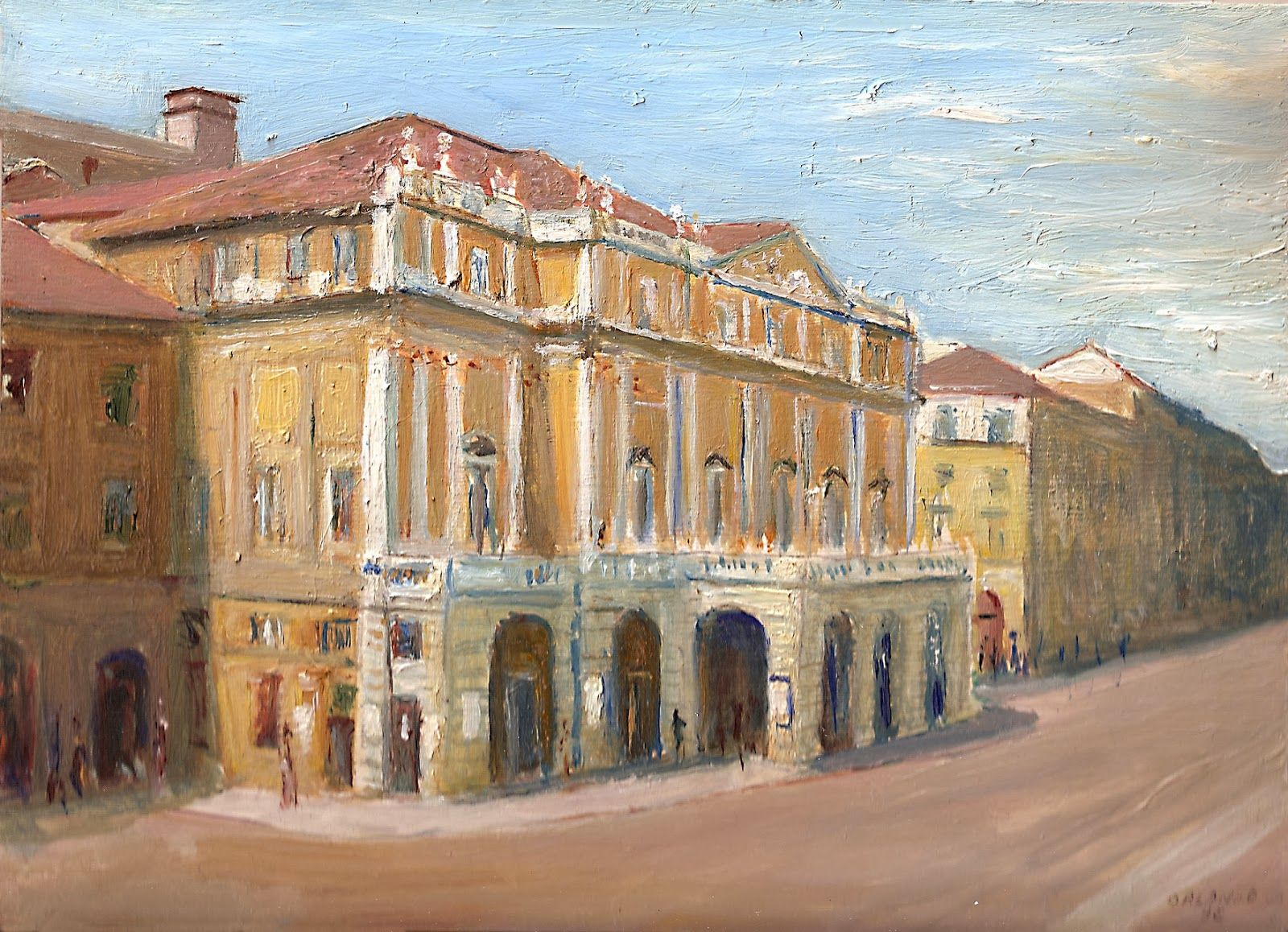Sergio Orlando, la pittura, l'anima delle cose.