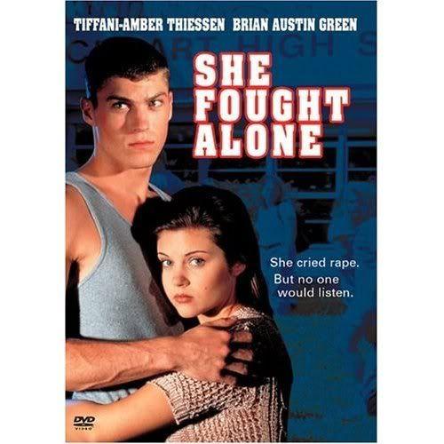 Tiffani-Amber Thiessen and Brian Austin Green in She Fought
