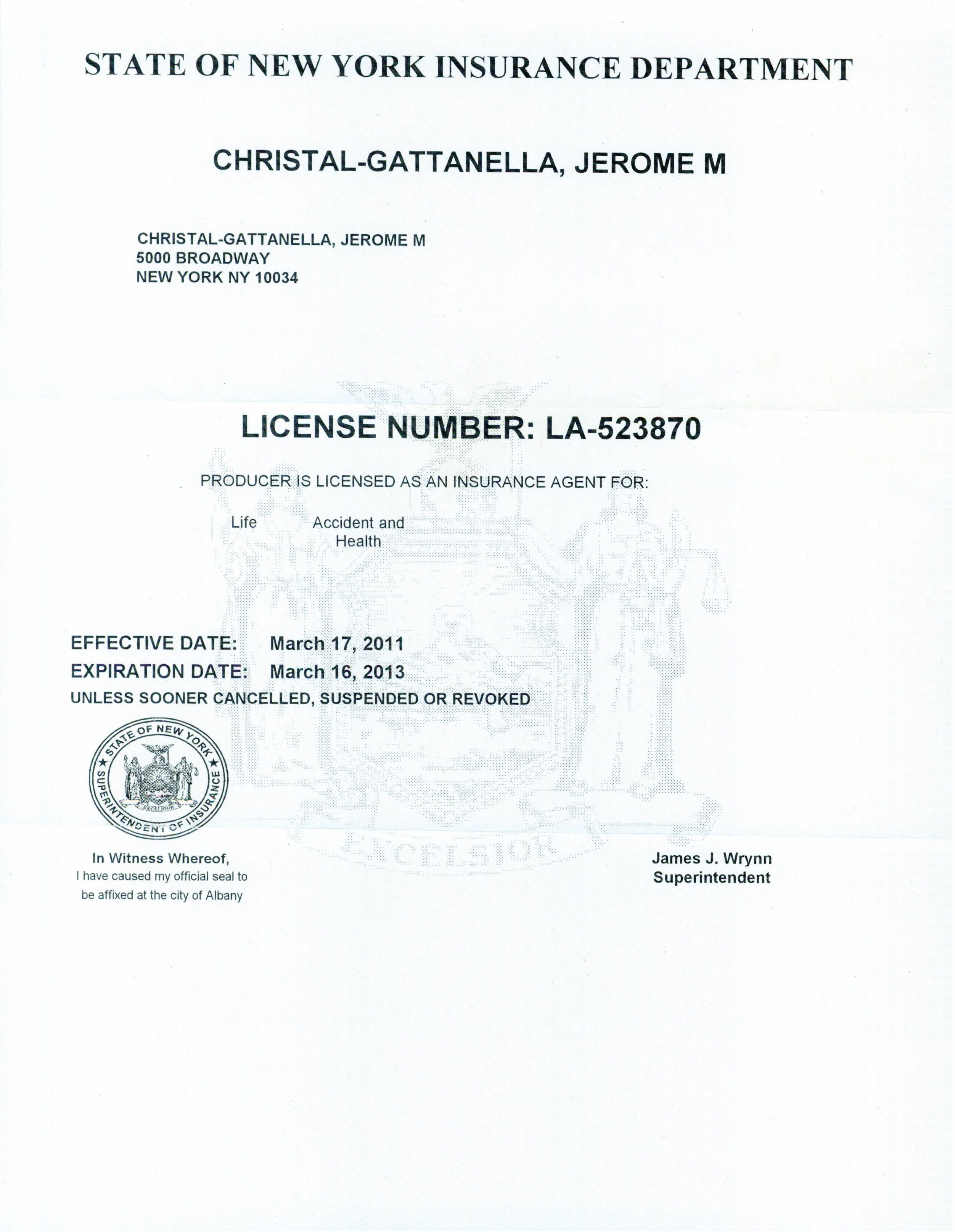 Jerrychristal Licensed Life Insurance Agent 1k All Communites